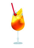 Cocktail orange bumblebee Royalty Free Stock Photos