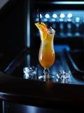 Cocktail orange d'alcool Photo stock
