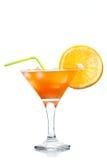 Cocktail orange de tequila Photographie stock libre de droits