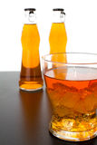 Cocktail. Orange-flavored drink with ice Stock Photography