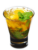 Cocktail - Orange Mojito Stock Photography