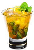 Cocktail - Orange Mojito Stock Photo