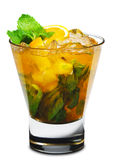 Cocktail - Orange Mojito Stock Images