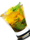 Cocktail - Orange Mojito Stock Photos