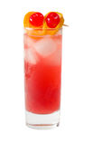 Cocktail orange régénérateur d'isolement Photographie stock libre de droits