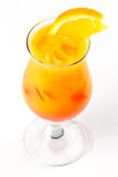 Cocktail with orange Royalty Free Stock Photography