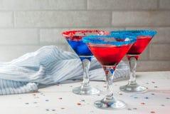 Cocktail para julho, 4 Imagens de Stock