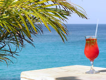 Cocktail Paradise stock images