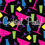 Cocktail Party! Royalty Free Stock Photo