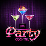 Cocktail party background Stock Photo