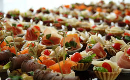 Cocktail Party Canape Set Stock Photo Stock Image
