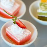 Cocktail party with variety of desserts Royalty Free Stock Image