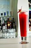 Cocktail piccante dei peperoncini rossi rossi Immagini Stock Libere da Diritti