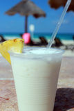 Cocktail Pina colada cancun Royalty Free Stock Images