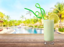 Cocktail. Pina colada drink pineapple tropical drink drinking umbrella Royalty Free Stock Photography