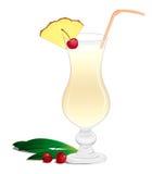 Cocktail Pina Colada Royalty Free Stock Photos