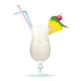 Cocktail Pinca Colada Royalty Free Stock Photo
