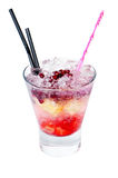 Cocktail with pomegranate Royalty Free Stock Image