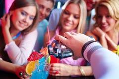 Cocktail régénérateur Photo stock