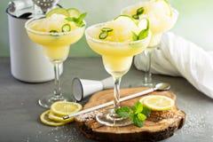 Cocktail régénérateur de margarita d'été Photos stock