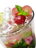 Cocktail - raisin Mojito Photo libre de droits