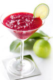 Cocktail raspberry Royalty Free Stock Images
