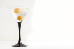 Cocktail with raspberry Royalty Free Stock Photography