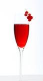 Cocktail real de Kir imagens de stock