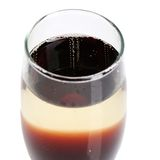 Cocktail reale di Kir Immagine Stock