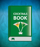 Cocktail recipe book Royalty Free Stock Photography