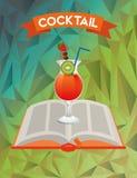 Cocktail recipe book Stock Photo