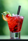 Cocktail red energy Stock Photos