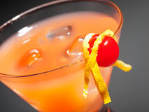 Cocktail Rob Roy Images libres de droits