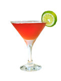 Cocktail rosso Immagine Stock