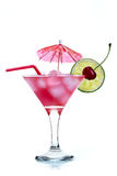 Cocktail rosso fotografie stock
