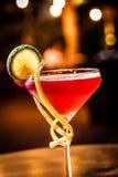 Cocktail rosso Fotografie Stock Libere da Diritti
