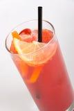 Cocktail rosso Fotografia Stock Libera da Diritti