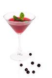 Cocktail rosso Immagini Stock Libere da Diritti