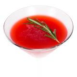 Cocktail rosso Fotografia Stock