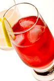 Cocktail rosso Fotografie Stock