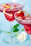 Cocktail rosso della nube immagine stock libera da diritti