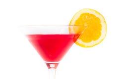 Cocktail rosso e giallo Fotografie Stock Libere da Diritti