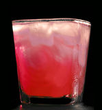 Cocktail rosso freddo Fotografie Stock Libere da Diritti