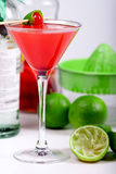 Cocktail rouge Photo stock