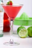 Cocktail rouge Image libre de droits
