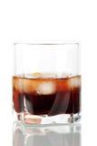 Cocktail russian preto imagem de stock