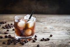 Cocktail russo nero fotografie stock libere da diritti