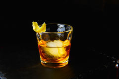 Cocktail RUSTY NAIL Royalty Free Stock Photos