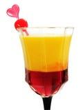 Cocktail-Sammlung - blutendes Herz Stockfoto