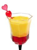 Cocktail-Sammlung - blutendes Herz Lizenzfreie Stockfotografie